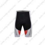 2011 Team SCOTT Biking Shorts White Red