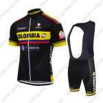 2015 Team COLOMBIA Cycling Bib Kit