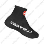 2015 Team Castelli Riding Shoes Covers Black