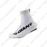 2015 Team GIANT Cycling Shoes Covers White