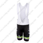 2015 Team Liv Plantur Ladies' Cycling Bib Shorts Black Green