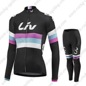 2015 Team Liv Women's Cycle Long Kit Black