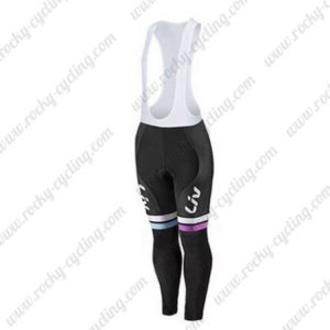 2015 Team Liv Women's Cycling Bib Pants White