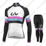 2015 Team Liv Women's Cycling Long Kit White