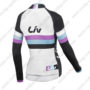 2015 Team Liv Women's Riding Long Sleeves Jersey White