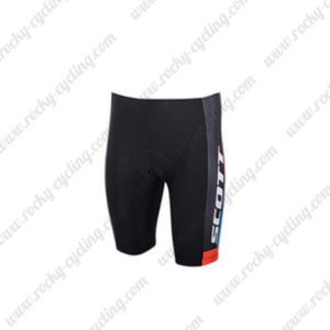 2015 Team SCOTT Biking Shorts Blue Black
