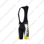 2015 Team SCOTT Cycle Bib Shorts Black Yellow