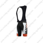 2015 Team SCOTT Cycle Bib Shorts White Black Red