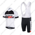 2015 Team SCOTT Racing Bib Kit White Black Red