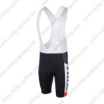 2015 Team SCOTT Racing Bib Shorts White Black Red