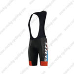 2015 Team SCOTT Riding Bib Shorts Blue Black