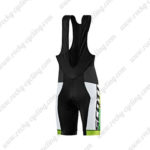 2015 Team SCOTT Riding Bib Shorts Green Yellow