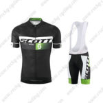2015 Team SCOTT Training Bib Kit Black Green