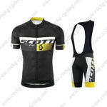 2015 Team SCOTT Training Bib Kit Black Yellow