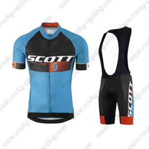 2015 Team SCOTT Training Bib Kit Blue Black