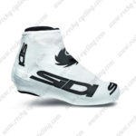 2015 Team SIDI Cycling Shoes Covers White