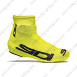 2015 Team SIDI Cycling Shoes Covers Yellow