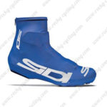 2015 Team SIDI Racing Shoes Covers Blue