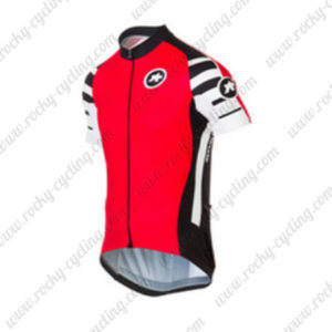 2016 Team ASSOS Cycle Jersey Red
