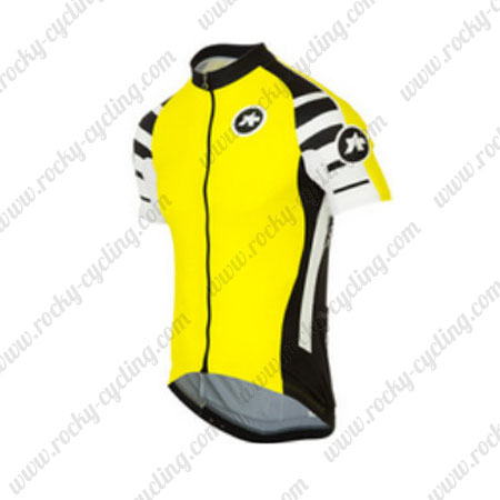 ... Wear Bicycle Maillot Jersey Tops Shirt Yellow. 2016 Team ASSOS Cycle  Jersey Yellow cb41269eb