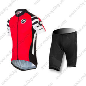 2016 Team ASSOS Cycle Kit Red