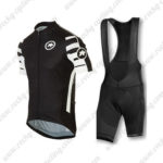 2016 Team ASSOS Cycling Bib Kit Black