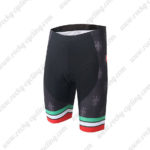 2016 Team Castelli CAFE Cycling Shorts Black Green Red