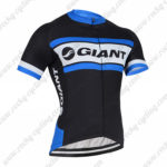 2016 Team GIANT Cycle Jersey Maillot Shirt Black White Blue