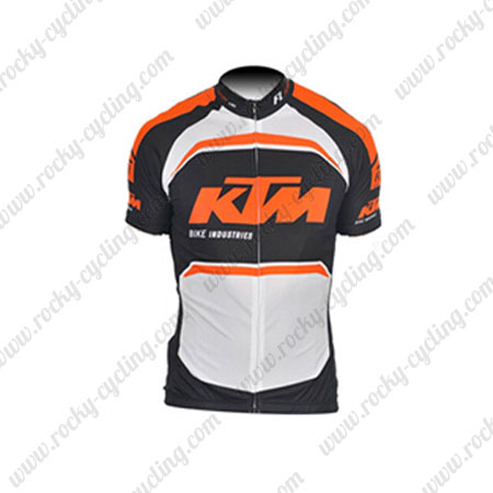 2016 Team KTM Riding Apparel Bicycle Maillot Jersey Tops Shirt Black ... c8d96c888