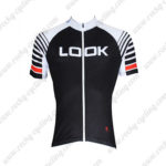 2016 Team LOOK Cycling Jersey Black White Red