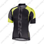 2016 Team LOOK Cycling Jersey Black Yellow