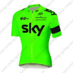 2016 Team SKY RAPHA Cycling Jersey Fluo Green