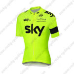 2016 Team SKY RAPHA Cycling Jersey Yellow