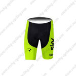 2016 Team SKY RAPHA Cycling Shorts Yellow