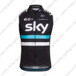 2016 Team SKY Rapha Cycling Sleeveless Jersey