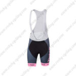 2016 Team Tinkoff Women's Cycling Bib Shorts Pink