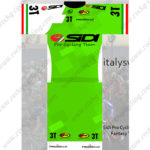 2016 Team 3T SIDI Pro Cycling Team Kit Green