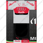 2016 Team AUDI Cycling Kit Grey Red