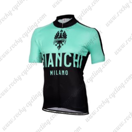 2016 Team BIANCHI MILANO Riding Wear Bicycle Maillot Jersey Tops ... b89caa247