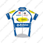 2016 Team Baloise Topsport Cycling Jersey White Blue