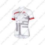 2016 Team Castelli Bicycle Jersey Maillot Shirt White
