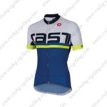 2016 Team Castelli Cycling Jersey Maillot Shirt White Green Blue