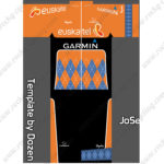 2016 Team Euskaltel GARMIN Cycling Kit Orange Black