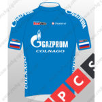 2016 Team GAZPROM COLNAGO Cycling Jersey Maillot Shirt Blue