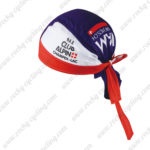2016 Team IAM Cycling Bandana Head Scarf White Red Blue