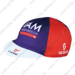 2016 Team IAM Cycling Cap Hat Red Blue