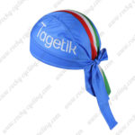 2016 Team ITALIA Riding Bandana Head Scarf Blue