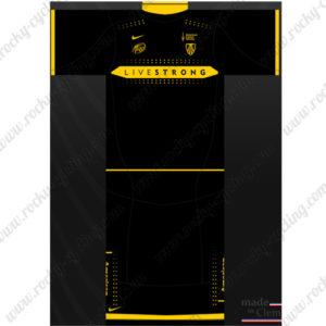 2016 Team LIVESTRONG Cycling Kit Black Yellow
