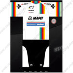 2016 Team MAPEI SIDI Cycling Kit White Black