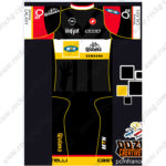2016 Team MTN Castelli Qhubeka Cycling Kit Black